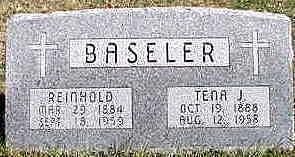BASELER, REINHOLD - Hardin County, Iowa | REINHOLD BASELER