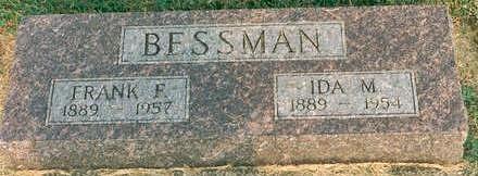RUNGE BESSMAN, IDA - Hardin County, Iowa | IDA RUNGE BESSMAN