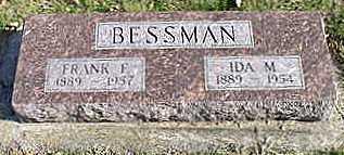RUNGE BESSMAN, IDA M - Hardin County, Iowa | IDA M RUNGE BESSMAN