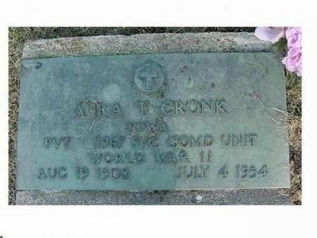 CRONK, AURA T. - Hardin County, Iowa | AURA T. CRONK