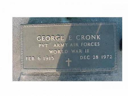 CRONK, GEORGE E - Hardin County, Iowa | GEORGE E CRONK