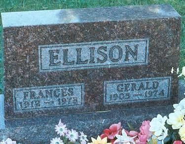 SNAPP ELLISON, FRANCES - Hardin County, Iowa | FRANCES SNAPP ELLISON