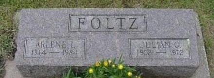 FOLTZ, ARLENE L. & JULIAN C. - Hardin County, Iowa | ARLENE L. & JULIAN C. FOLTZ
