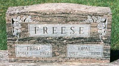 FREESE, OPAL - Hardin County, Iowa | OPAL FREESE