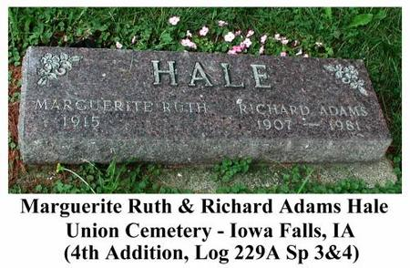 HALE, RICHARD & MARGUERITE - Hardin County, Iowa | RICHARD & MARGUERITE HALE