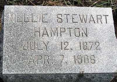 HAMPTON, NELLIE MAY - Hardin County, Iowa | NELLIE MAY HAMPTON