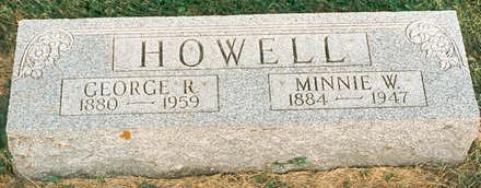 HOWELL, GEORGE - Hardin County, Iowa | GEORGE HOWELL