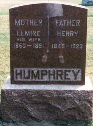 HUMPHREY, ELMIRA - Hardin County, Iowa | ELMIRA HUMPHREY