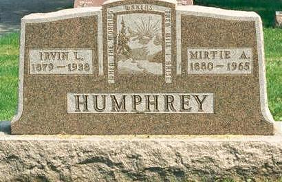 HUMPHREY, MIRTIE - Hardin County, Iowa | MIRTIE HUMPHREY
