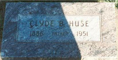 HUSE, CLYDE - Hardin County, Iowa | CLYDE HUSE