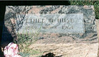 HUSE, ETHEL - Hardin County, Iowa | ETHEL HUSE
