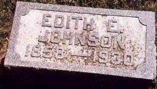 JOHNSON, EDITH - Hardin County, Iowa | EDITH JOHNSON