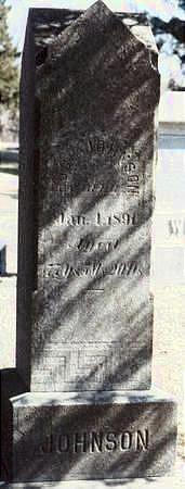 JOHNSON, HUGH - Hardin County, Iowa   HUGH JOHNSON