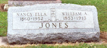 JONES, WILLIAM A. - Hardin County, Iowa | WILLIAM A. JONES