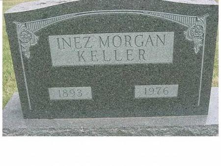 KELLER, INEZ MORGAN - Hardin County, Iowa | INEZ MORGAN KELLER