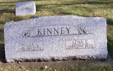 KINNEY, LENA - Hardin County, Iowa | LENA KINNEY