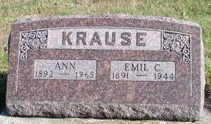 KRAUSE, EMIL C - Hardin County, Iowa | EMIL C KRAUSE