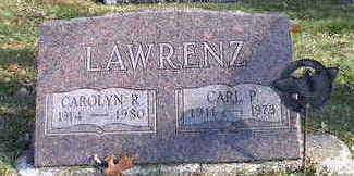 LAWRENZ, CARL P - Hardin County, Iowa | CARL P LAWRENZ