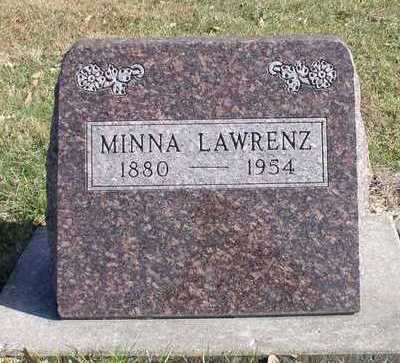 LAWRENZ, MINNA - Hardin County, Iowa | MINNA LAWRENZ