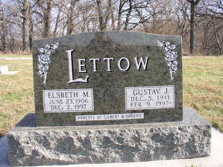 LETTOW, ELSBETH M - Hardin County, Iowa | ELSBETH M LETTOW