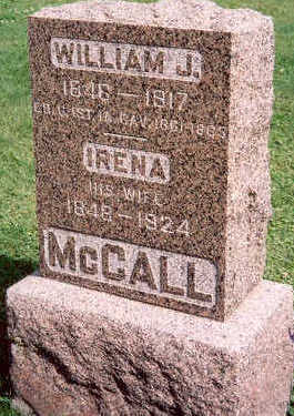 MCCALL, WILLIAM AND IRENA - Hardin County, Iowa | WILLIAM AND IRENA MCCALL