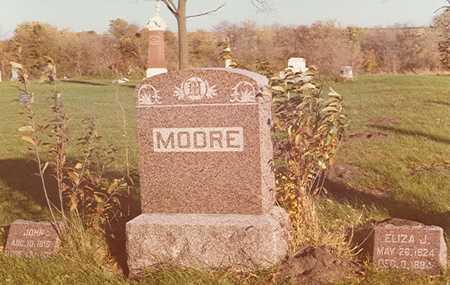 ADAMS ? MOORE, ELIZA J. - Hardin County, Iowa | ELIZA J. ADAMS ? MOORE