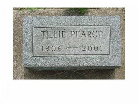 PEARCE, TILLIE - Hardin County, Iowa | TILLIE PEARCE