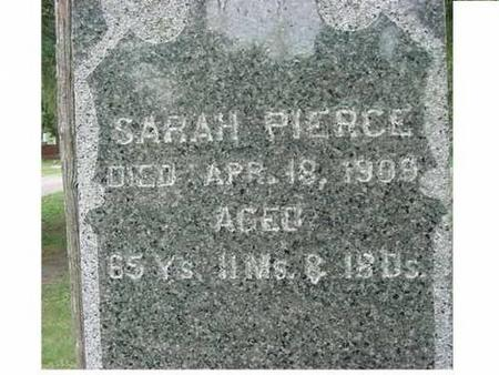 PIERCE, SARAH - Hardin County, Iowa | SARAH PIERCE