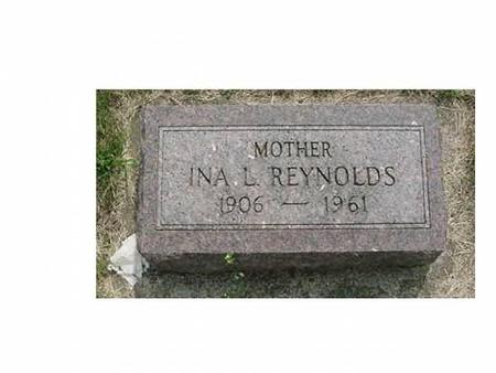 REYNOLDS, INA L - Hardin County, Iowa | INA L REYNOLDS