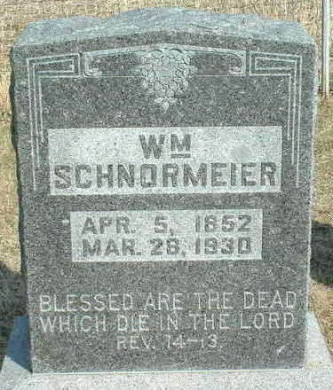 SCHNORMEIER, WILLIAM - Hardin County, Iowa | WILLIAM SCHNORMEIER