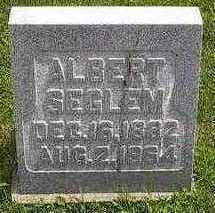 SEGLEM, ALBERT - Hardin County, Iowa   ALBERT SEGLEM
