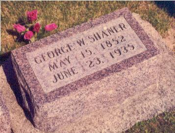 SHANER, GEORGE - Hardin County, Iowa | GEORGE SHANER