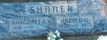 CULBERSON SHANER, HOWARD W & MARGARET A - Hardin County, Iowa | HOWARD W & MARGARET A CULBERSON SHANER