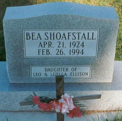 ELLISON SHOAFSTALL, BEA - Hardin County, Iowa | BEA ELLISON SHOAFSTALL