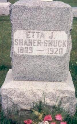 SHANER SMUCK, ETTA - Hardin County, Iowa | ETTA SHANER SMUCK