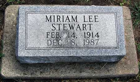 STEWART, MIRIAM LEE - Hardin County, Iowa | MIRIAM LEE STEWART