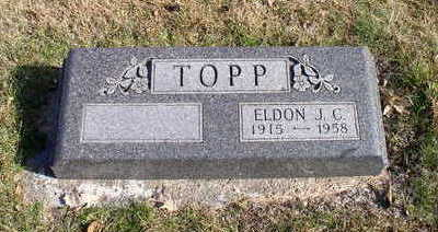 TOPP, ELDON J C - Hardin County, Iowa | ELDON J C TOPP