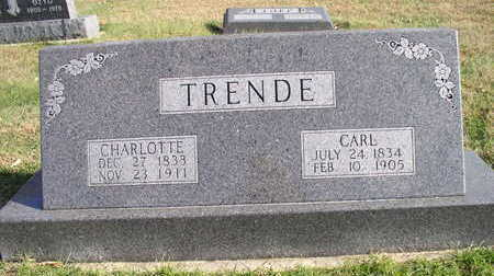 TRENDE, CARL - Hardin County, Iowa | CARL TRENDE