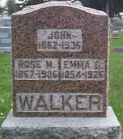 WALKER, JOHN - Hardin County, Iowa | JOHN WALKER