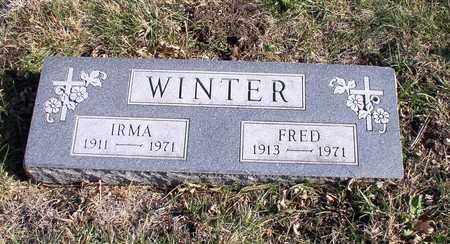 WINTER, IRMA - Hardin County, Iowa | IRMA WINTER