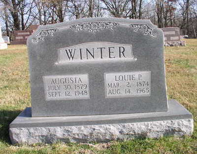 WINTER, AUGUSTA - Hardin County, Iowa | AUGUSTA WINTER
