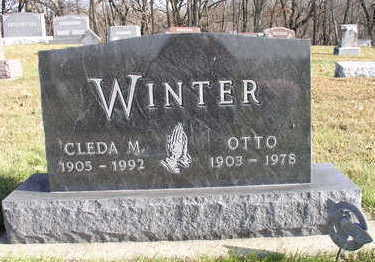 MILLER WINTER, CLEDA M - Hardin County, Iowa | CLEDA M MILLER WINTER