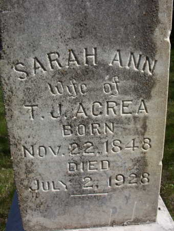 DEAL ACREA, SARAH ANN - Harrison County, Iowa | SARAH ANN DEAL ACREA