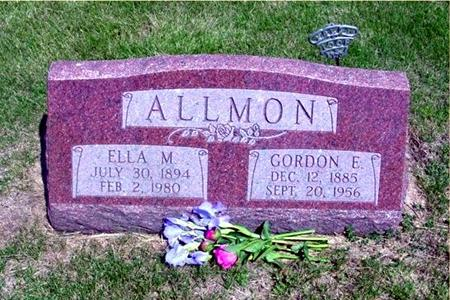 ALLMON, GORDON EARL - Harrison County, Iowa | GORDON EARL ALLMON
