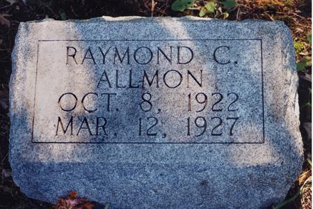 ALLMON, RAYMOND C. - Harrison County, Iowa | RAYMOND C. ALLMON