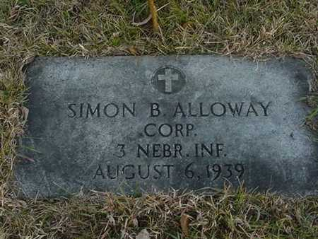 ALLOWAY, SIMON B. - Harrison County, Iowa | SIMON B. ALLOWAY