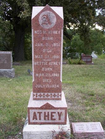 ATHEY, EDWARD M (NED) - Harrison County, Iowa | EDWARD M (NED) ATHEY