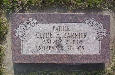 BARRIER, CLYDE H. - Harrison County, Iowa   CLYDE H. BARRIER