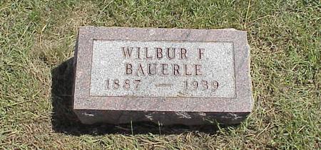 BAUERLE, WILBUR F - Harrison County, Iowa | WILBUR F BAUERLE