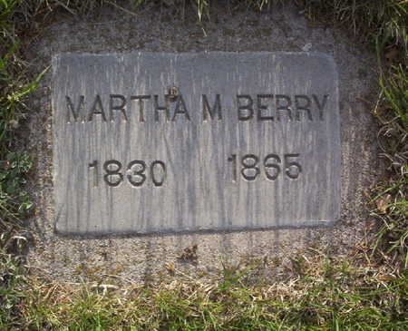 BERRY, MARTHA M. - Harrison County, Iowa | MARTHA M. BERRY